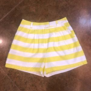 4/$25 Alythea striped shorts.  Size s
